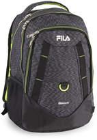 Fila Black & Green Spike Backpack