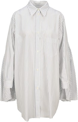 MM6 MAISON MARGIELA Mm6 Striped Shirt Dress
