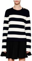 RED Valentino Striped Jumper