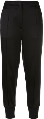 3.1 Phillip Lim Satin Cropped Track Pants