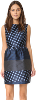 RED Valentino Sleeveless Dress with Full Skirt