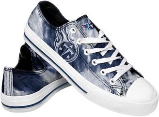 Women's Tennessee Titans Tie-Dye Canvas Shoe