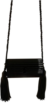 Saint Laurent Opyum box Black Plastic Clutch bags