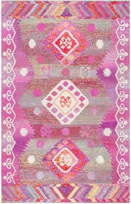 nuLoom Tribal Diamond Valene Hand-Tufted Rug