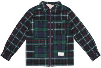 Bonpoint Max flannel cotton jacket