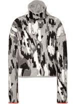 Just Cavalli Angora-Wool Blend Turtleneck Pullover