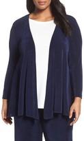 Vikki Vi Plus Size Women's Open Front Swing Cardigan