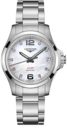 Longines Conquest V.H.P. Classic Stainless Steel Bracelet Watch
