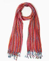 Charming charlie Colorful Stripe Scarf