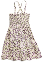Brooks Brothers Smocked Mini Flower Dress