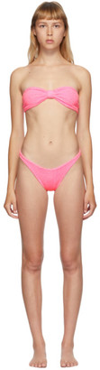 Hunza G Pink Jean Bikini