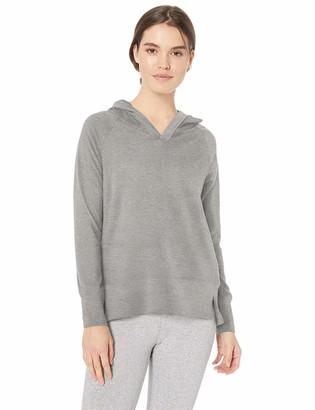 Danskin Women's Active Hooded Pullover Sweatshirt