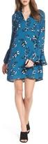 Charles Henry Women's Bell Sleeve Shirtdress
