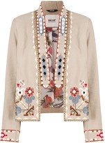 Bazar Deluxe studded cropped jacket