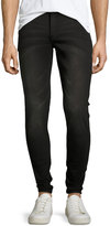 Cheap Monday Him Spray Low-Rise Jeans, Gray