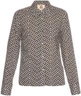 Figue Anna zigzag-print cotton shirt