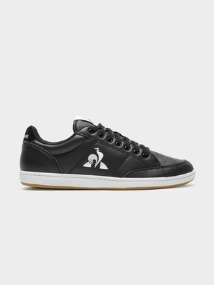 Le Coq Sportif Mens Court Clay Bold Sneakers in Black