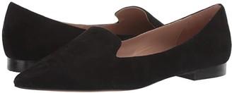 Linea Paolo Portia (Black Suede) Women's Shoes
