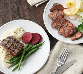 Kansas City Steak Kansas City (16) 5-oz Top Sirloin Steaks Auto-Delivery