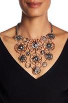 Jenny Packham Crystal Bib Necklace
