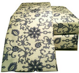 Belle Epoque Paisley Flannel Blue White Sheet Set