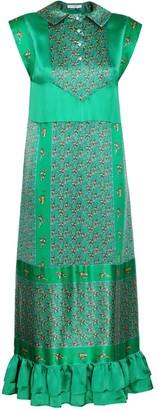 Jiri Kalfar Long Emerald Green Dress