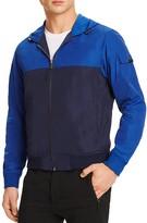 Michael Kors Color Block Hooded Windbreaker
