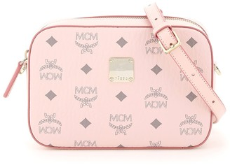 MCM Visetos Logo Camera Bag