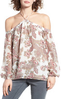 WAYF Liberty Off the Shoulder Blouse