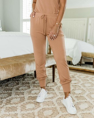 The Drop Women's Caramel Jogger by @kathleen_barnes