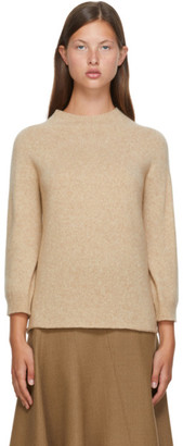 Max Mara Beige Wool Campo Sweater