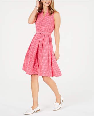 Charter Club Polka Dot Shirtdress, Created for Macy's