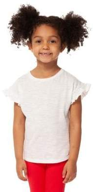 Dex Little Girl's Ruffle-Sleeve Tee