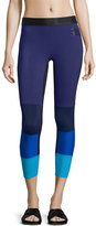 Monreal London Spectrum Colorblock Sport Leggings, Cassis