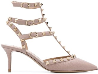 Valentino Rockstud 70mm pointed pumps