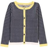 Bonton Sale - Jacquard Check Cardigan