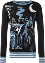 Dolce & Gabbana cocktail intarsia knit jumper - men - Silk - 50