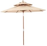 Patio Push Pin Tilt Umbrella
