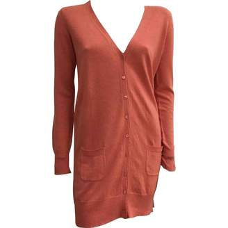 Joseph Orange Linen Knitwear