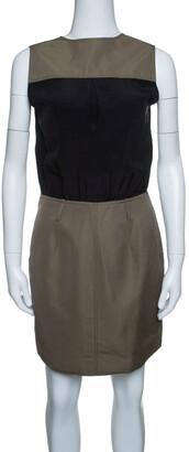 Victoria Victoria Beckham Colorblock Sleeveless Dress S