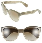 Oliver Peoples Women's 'Abrie' 58Mm Cat Eye Sunglasses - Grey/ Hazel Gradient