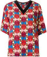Reinaldo Lourenço - silk blouse - women - Silk - 46