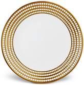 "L'OBJET Perlee Gold 14"" Round Platter"