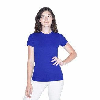 American Apparel Women's Fine Jersey Fitted Short Sleeve T-Shirt