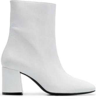 Nicole Saldaña Calley block-heel ankle boots
