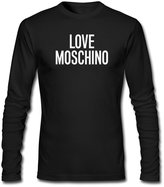 Love Moschino For Mens Printed Long Sleeve tops t shirts