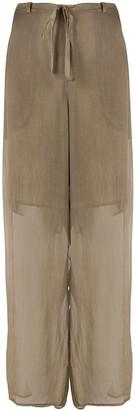 Masnada Wrap Tie Trousers