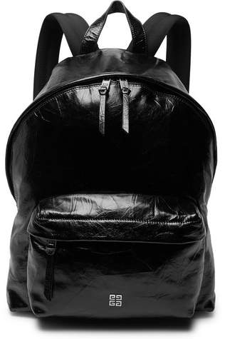 Givenchy Creased-Leather Backpack