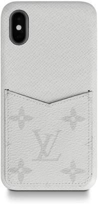 Louis Vuitton iPhone Case Monogram Antarctica Taiga XS White