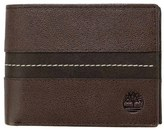 Timberland Men's Tip Point Leather Passcase Wallet